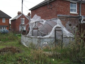 Polytunnel Damaged